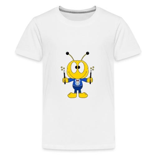 Lustige Biene - Bee - Zauberer - Magier - Fun - Teenager Premium T-Shirt
