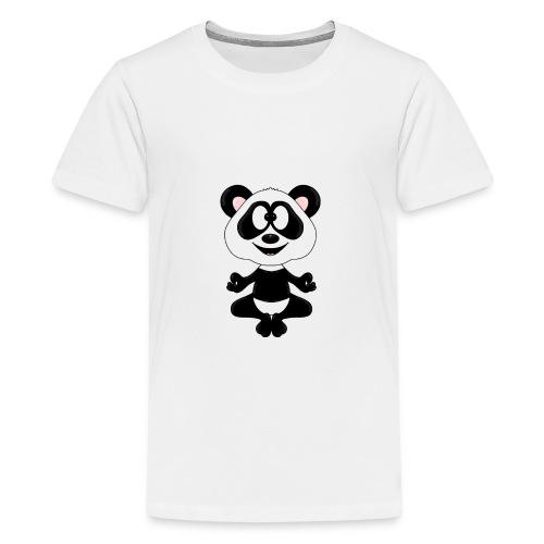 Panda - Bär - Yoga - Chillen - Relaxen - Tierisch - Teenager Premium T-Shirt