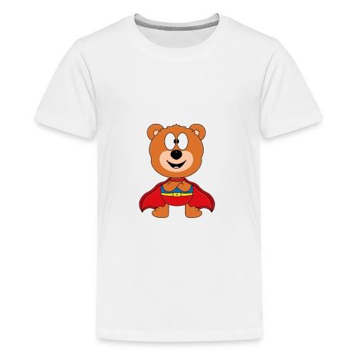 Teddy - Bär - Superheld - Kind - Baby - Tier - Teenager Premium T-Shirt