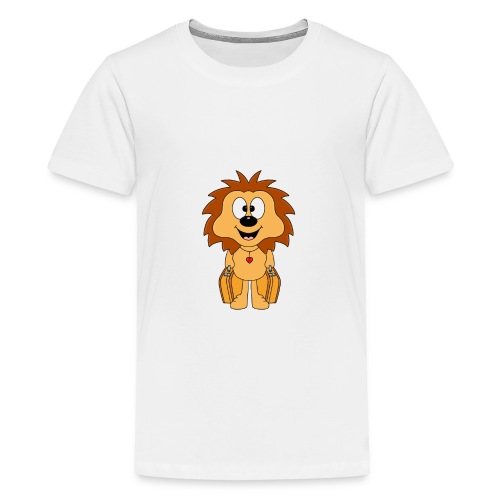 Igel - Koffer - Reise - Urlaub - Ferien - Tier - Teenager Premium T-Shirt