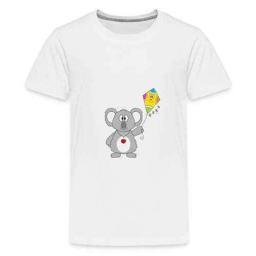 Panda - Drachen - Kite - Tier - Kind - Baby - Teenager Premium T-Shirt