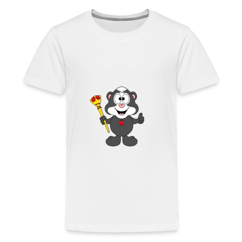 Stinktier - König - Königin - Tier - Kind - Baby - Teenager Premium T-Shirt