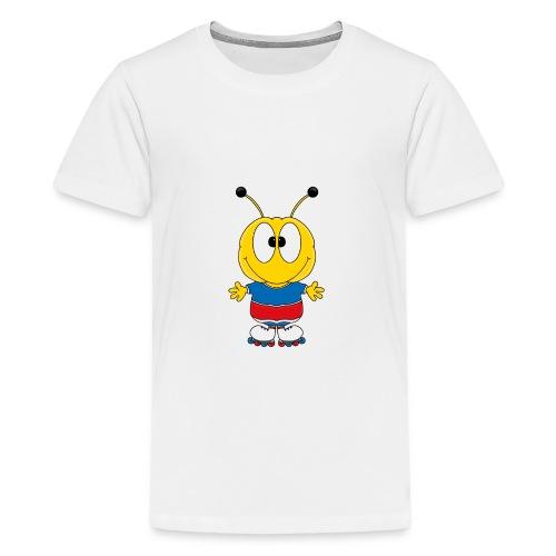 Biene - Inline Skates - Sport - Tier - Kind - Teenager Premium T-Shirt