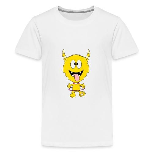 Monster - Hula-Hoop-Reifen - Kind - Baby - Teenager Premium T-Shirt