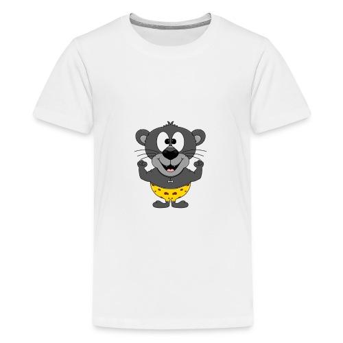 Panther - Fitness - Muskeln - Sport - Tierisch - Teenager Premium T-Shirt
