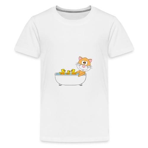 Hamster - Badewanne - Kind - Baby - Tier - Fun - Teenager Premium T-Shirt