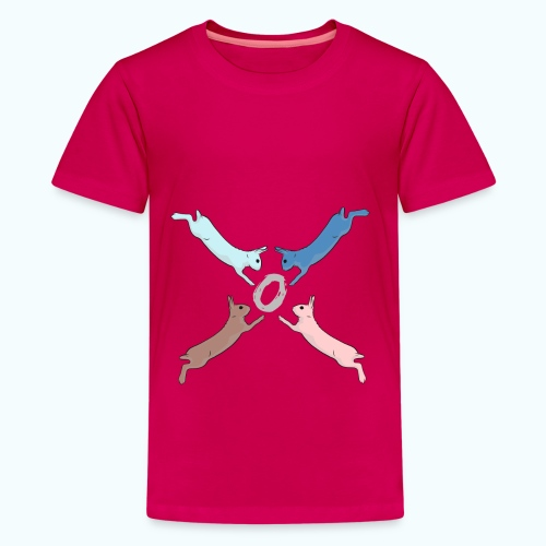 Easter - Teenage Premium T-Shirt