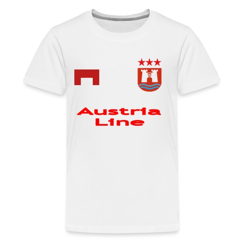 Maillot 2018/2019 du Danube de Linz - T-shirt Premium Ado