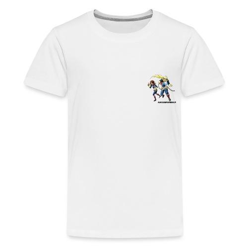 1+1=2Eine gute Connection - Teenager Premium T-Shirt