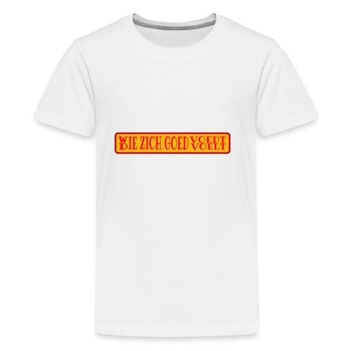 wie en die png - Teenage Premium T-Shirt