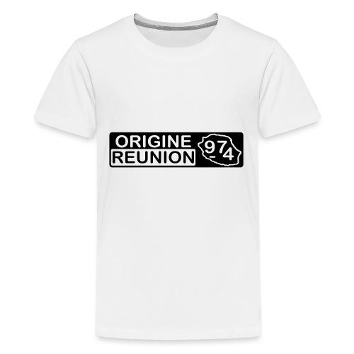 Origine Réunion 974 - v2 - T-shirt Premium Ado