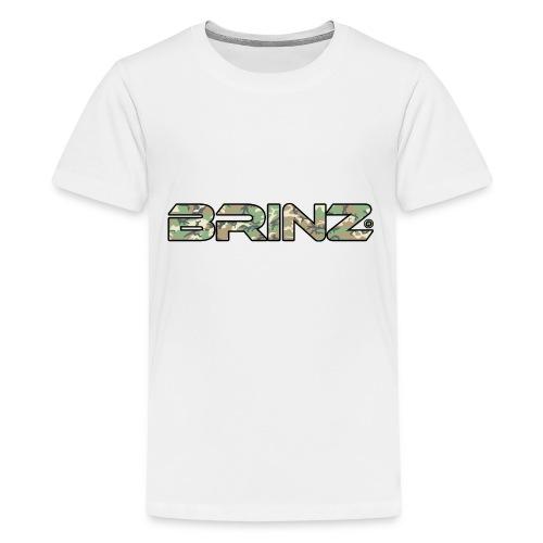 BRINZ Militare - Maglietta Premium per ragazzi