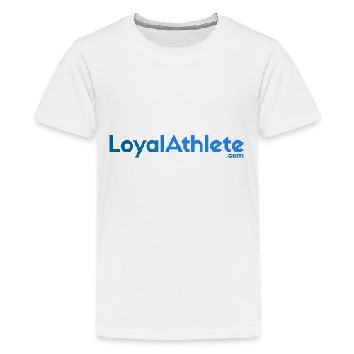 Loyal athlete banner - Teenage Premium T-Shirt