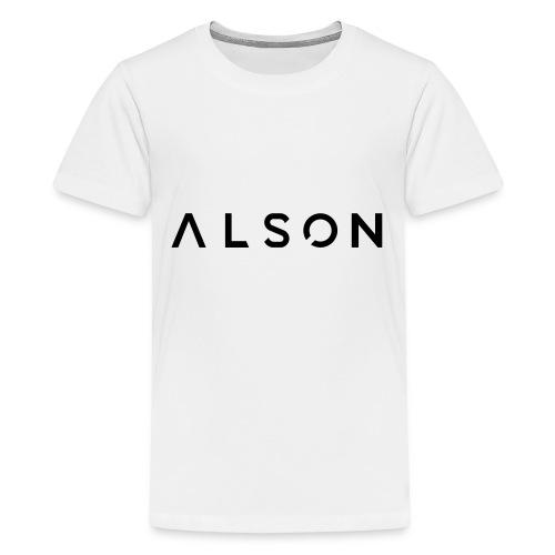 alson logo - Teenager Premium T-shirt