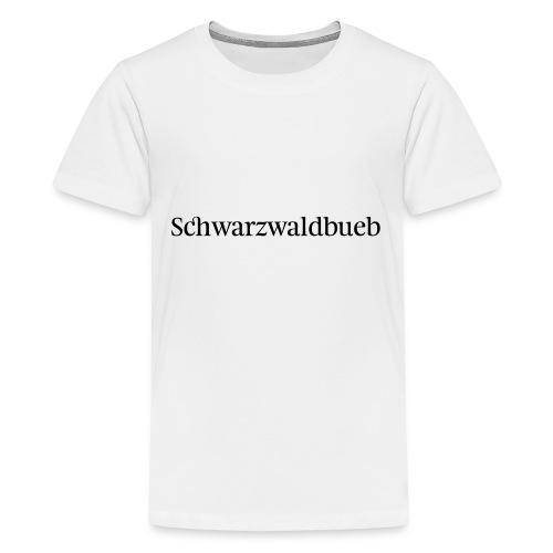 Schwarwaödbueb - T-Shirt - Teenager Premium T-Shirt