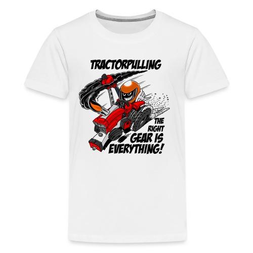 0966 tractorpulling - Teenager Premium T-shirt