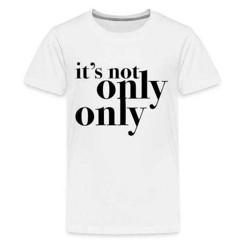 onlyonly - Premium T-skjorte for tenåringer