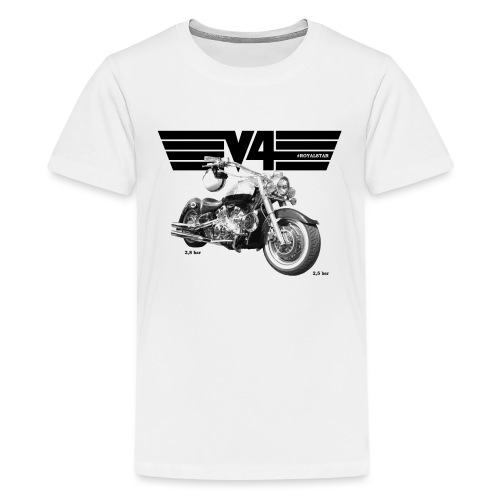 Royal Star Chopper WINGS 2 - Teenager Premium T-Shirt