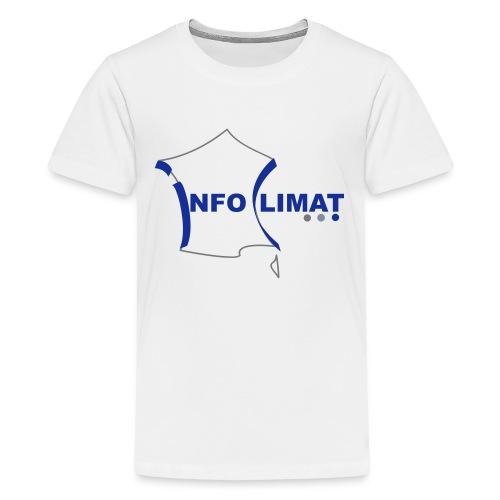 logo simplifié - T-shirt Premium Ado