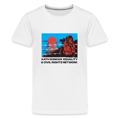 Kath Duncan Equality and Civil Rights Network - Teenage Premium T-Shirt