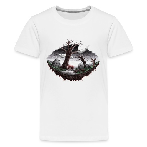 Horrorcontest scribblesirii - Teinien premium t-paita