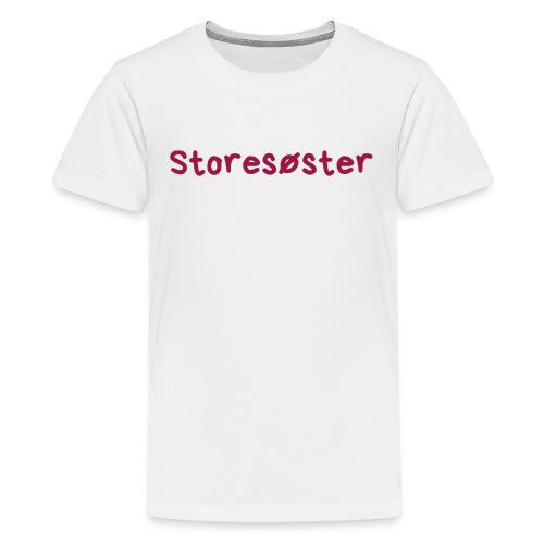 Storesøster - Premium T-skjorte for tenåringer