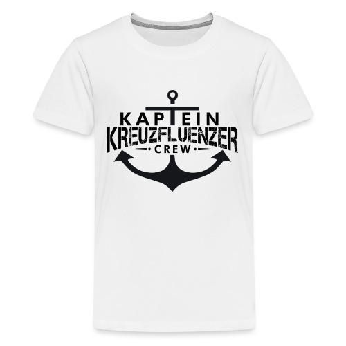 Kaptein Kreuzfluenzer Crew - Teenager Premium T-Shirt