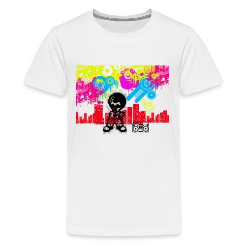Borse personalizzate con foto Dancefloor - Maglietta Premium per ragazzi