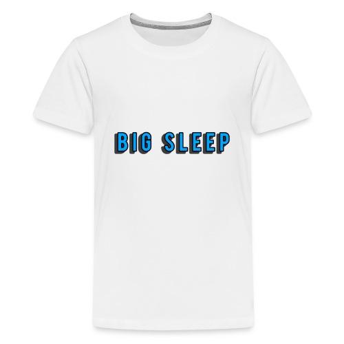 Letter No. one - Teenage Premium T-Shirt