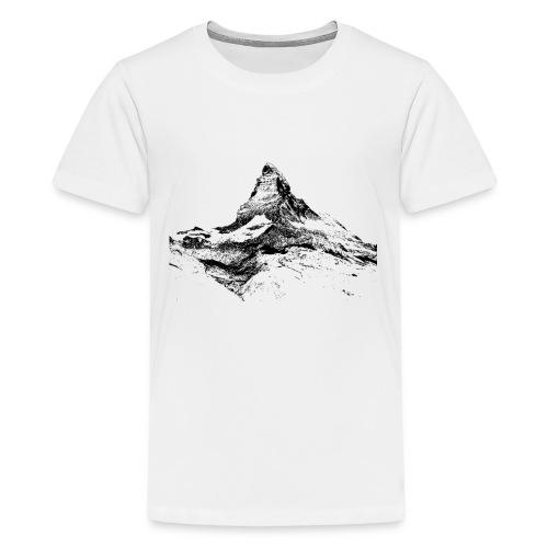 matterhorn - Teenager Premium T-Shirt