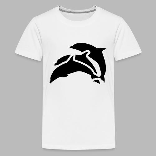 drei delfine - Teenager Premium T-Shirt