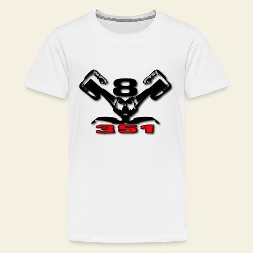 351 v8 - Teenager premium T-shirt