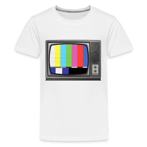 tv signal - T-shirt Premium Ado