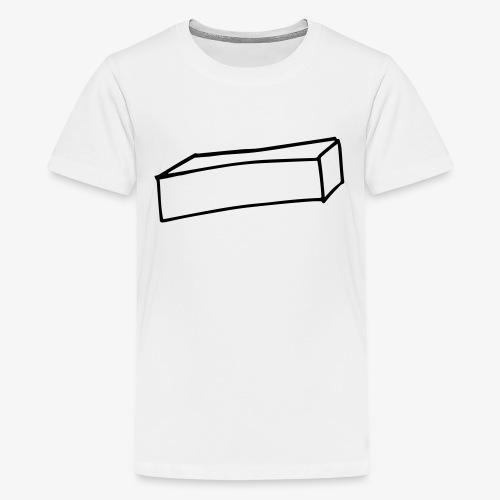 Cube allongé - T-shirt Premium Ado