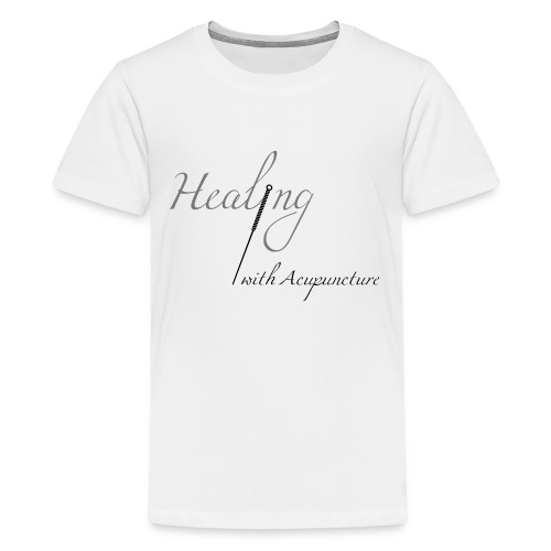 Healing with acupuncture - T-shirt Premium Ado