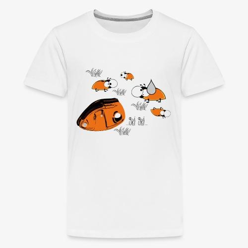 Gri gri - climbing - Teenage Premium T-Shirt