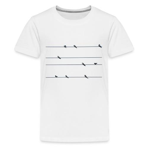 Vogelschutzbund - Teenager Premium T-Shirt
