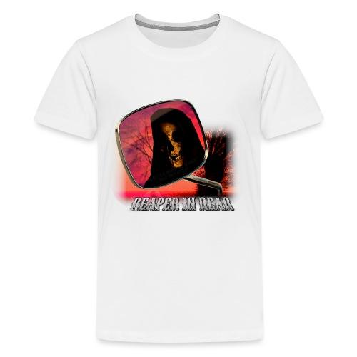 Reaper in Rear - Teenage Premium T-Shirt