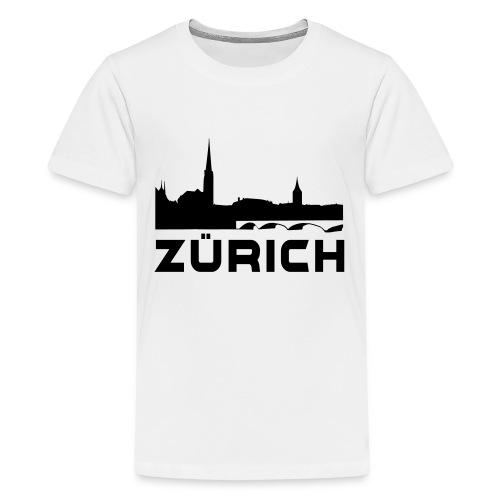 Zürich - Teenager Premium T-Shirt