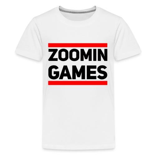 9815 2CRUN ZG - Teenage Premium T-Shirt