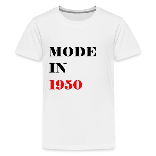 MODE IN 150 - Teenage Premium T-Shirt