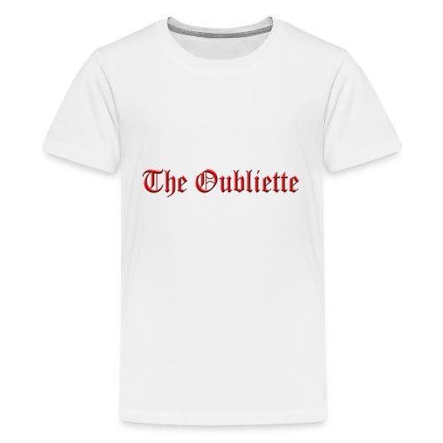 The Oubliette Apron - Teenage Premium T-Shirt