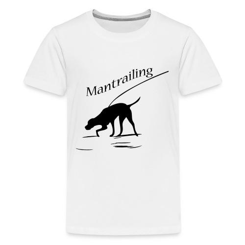 Mantrailing - Teenager Premium T-Shirt