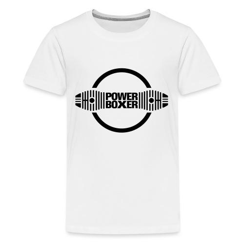 Motorrad Fahrer Shirt Powerboxer - Teenager Premium T-Shirt