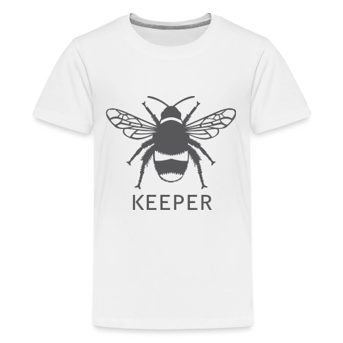 Bee Keeper - Teenage Premium T-Shirt