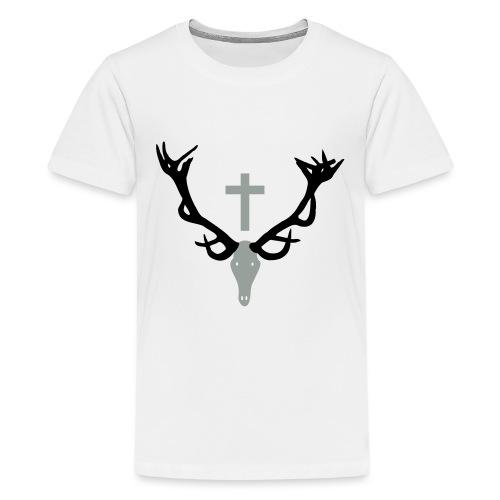 Hirschgeweih - Teenager Premium T-Shirt