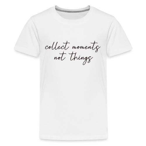 collet moments - Camiseta premium adolescente
