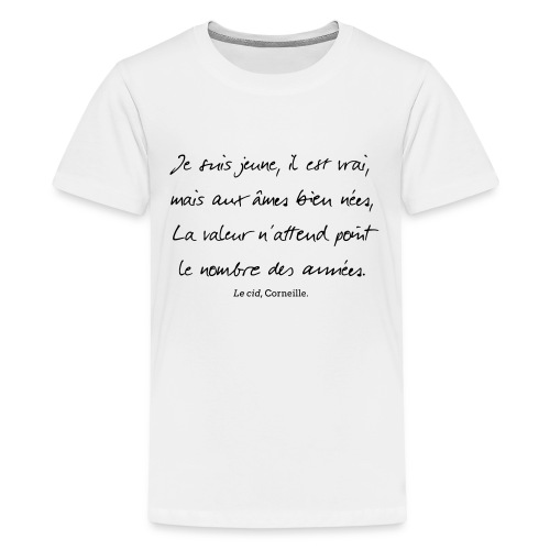 Le cid - Je suis jeune - T-shirt Premium Ado