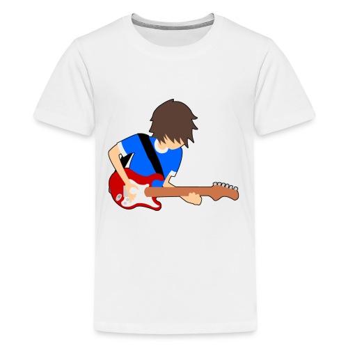 Guitar - Teenage Premium T-Shirt