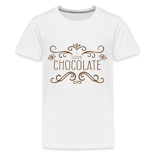 I Love Chocolate - T-shirt Premium Ado